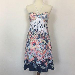 American Eagle watercolor floral dress sz XS